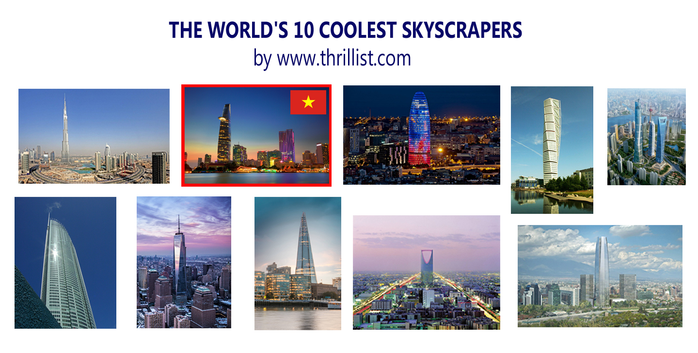"Vietnam's Bitexco Financial Tower among the world's ""coolest"" skyscrapers"